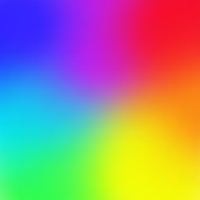 Rainbow color gradient mesh background Trendy style Vector illustration